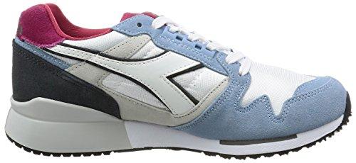 Diadora Unisex-erwachsene I.c 4000 Nyl Ii Sneaker Low Hals Blau (campanula Azul/grigio Acciaio)