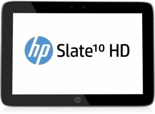 HP Slate 10 HD 3500eg 25,4 cm (10 Zoll) Tablet-PC (ARM A9 Dual-Core, 1,2GHz, 1GB RAM, 16GB HDD, Android 4.2) Silber