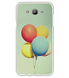 Balloons 2D Hard Polycarbonate Designer Back Case Cover for Samsung Galaxy On7 G600FY :: Samsung Galaxy On 7 (2015)