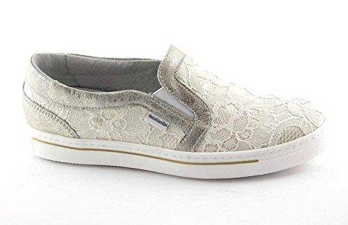 NERO GIARDINI JUNIOR 31260 ivory 35/39 scarpe bambina slip on pizzo 35