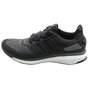 adidas Energy Boost 3 M, Zapatillas de Running para Hombre, Negro/Gris (Negbas/Griosc/Grpudg), 50 2/3 EU