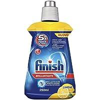 Finish Brillantante Addittivo Lavastoviglie, Limone, 250 ml