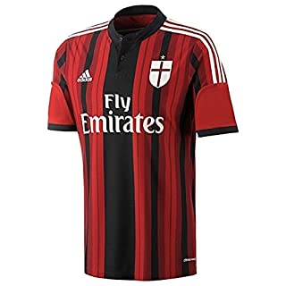 Adidas A.C Milan Home Shirt 2014-2015 D87224 Original Mens Football top All Sizes Adults (xs)