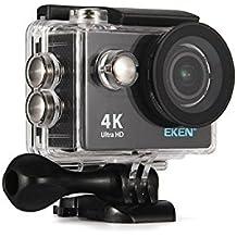 Original Eken h9r deportes cámara de acción 4K Ultra HD 2,4G mando a distancia WiFi 170grado amplia ángulo (negro)