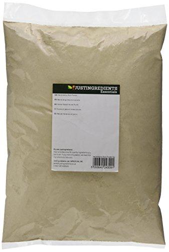 JustIngredients Echter Eibisch Wurzel Pulver, Marshmallow Root Powder, 1er Pack (1 x 1 kg)