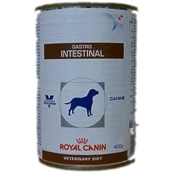 Royal Canin - Boîtes Royal Canin Veterinary Diet Chien Gastro Intestinal Contenances, 12 boîtes de 400 g