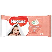 Huggies toallitas piel suave 64 por paquete