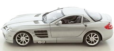 Mercedes SLR Mc Laren R 199, silber, Lizensiertes Modell, Maßstab 1:24 - mit Fernbedienung