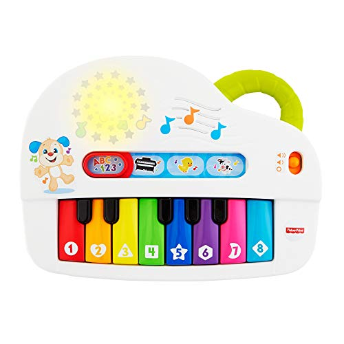 Fisher-Price GFK04 Silly Sounds Klavier, Mehrfarbig