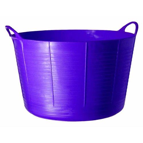 Tubtrug Seau Seau souple, 75 l Grandes Capacité, Plastique, violet, 75L
