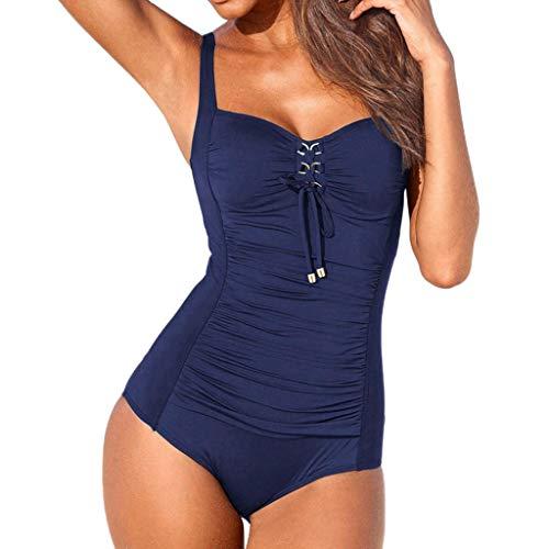 Damen Push Up Bikini Set Push-up BH Verband Badeanzug Bademode Damen Push up LHWY Frauen Sommer Strand BH Bikini Set Mesh Badeanzug Teen Mädchen Badebekleidungs Neckholder Mode Design