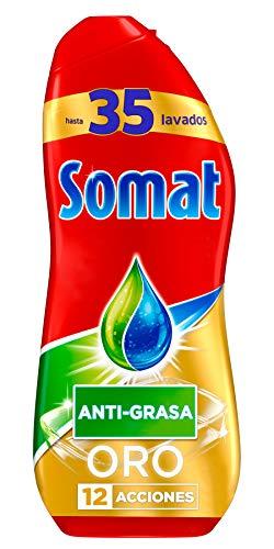 Somat Oro Gel Lavavajillas Antigrasa - 35 Lavados