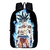 Cosstars Dragon Ball Anime Image Backpack Cartable Sac d'école Étudiant Sac à Dos...