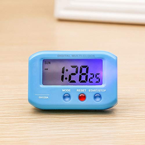ZHANGWENLI Reloj Despertador electrónico Viaje electrónico