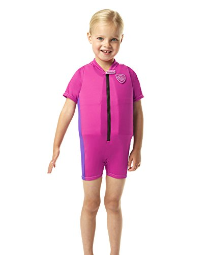 Speedo Accessoires Sea Squad Float Suit, Raspberry Fill/Purple Rain, 4-5, 8-0574592144-5