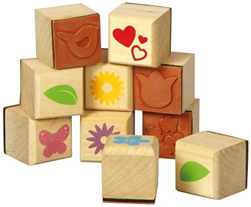 Muttertag Geschenke Holz Stempel Muttertag 10er Set