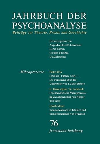 Jahrbuch der Psychoanalyse / Band 76: Mikroprozesse