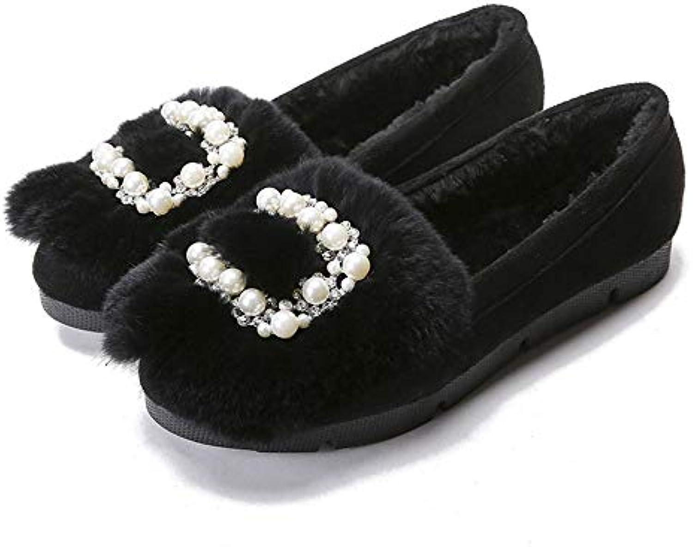 Le Donne più Velluto Inverno Caldo Scarpe di Cotone Scarpe Piatte di Grandi Dimensioni | Ad un prezzo inferiore  | Maschio/Ragazze Scarpa