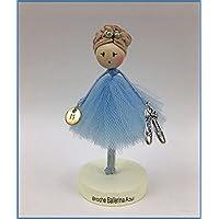 Broche de muñeca Moñitas Ballerina azul 31c7f63e753