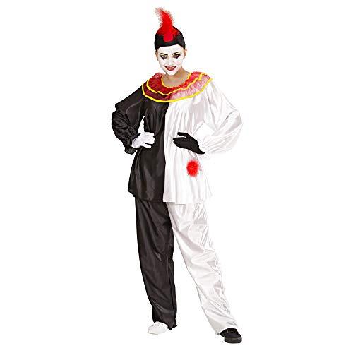 Kostüm Pierrot - Widmann 35352 - Kostüm Set Pierrot für Erwachsene, Größe L
