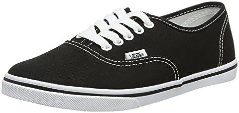 Vans AUTHENTIC LO PRO VGYQ Unisex-Erwachsene Sneakers, schwarz/weiß, EU 38