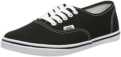 Vans AUTHENTIC LO PRO, Unisex-Erwachsene Sneakers, Schwarz (Black/True White), 36 EU
