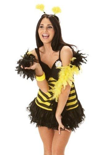 Rubie's Bumble Bee Dress Fancy Dress (Bee Dress Bumble Erwachsene Fancy)
