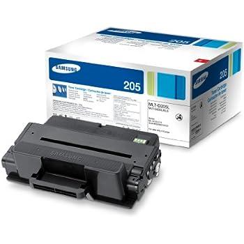 Samsung MLT-D205L Cartouche de toner pour Imprimante laser ML-3710/SCX-5637/SCX-5737 Noir