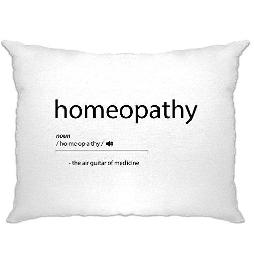 Homöopathie Die Luftgitarren-Of Medicine Printed Slogan Zitat Entwurf Kissenbezuge