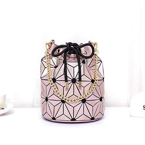 WNLZL Frauen Geometric Changeable Handtasche Mode Geometric Change Shape Bag Handle Satchel Daily Work Tote Schulter Schulter Taschen-Crossbody Shoulder Bag Holographic,4 - Handle Satchel Bag