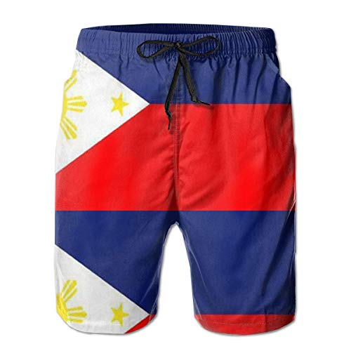 Tall Womens Ski Pants (OQUYCZ Philippine Island Flag Rectangle Sticker Printed Mens Quick Dry Swim Trunks Athletic Beach Board Shorts Pants)