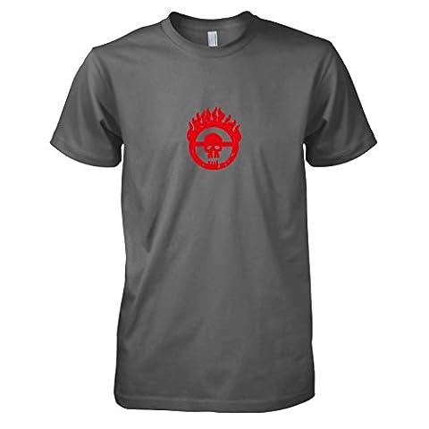 TEXLAB - Mad Fury - Herren T-Shirt, Größe M, grau