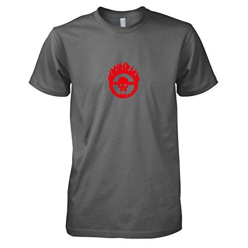 TEXLAB - Mad Fury - Herren T-Shirt, Größe M, grau (Furiosa Kostüm Mad Max)