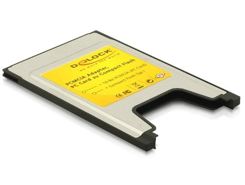 Delock PCMCIA Card Reader für Compact Flash Speicherkarten