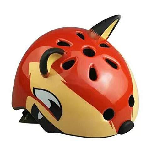 DUBYU Strumento di Protezione del Modello Animale del Fumetto Roller Skating Bicicletta del Casco del Casco del Bambino Pattini Skateboard bilanciamento della Vettura Bambino Bambino del Fumetto