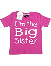 Edward Sinclair I'm the Big Sister' Fuchsia t-shirt