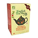 English Tea Shop Honeybush Acai Berry Punch Organic Naturally Caffeine Free / Tisana Biologica Honeybush e Bacche di Acai Naturalmente Senza Caffeina Premiata Collezione di Té Raccolti a Mano dallo Sri Lanka - 1 x 20 Sachets (30 Gram)