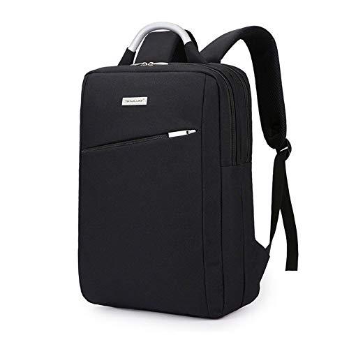Hulday Daypacks Laptop Rucksack Mit USB Ladeanschluss Und Diebstahlsicherung 15 6 Einfacher Stil Zoll Notebook Tasche Wasserdichter Schulrucksack Neutraler Rucksack