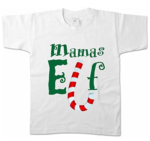 hirt - Mamas Elf Größe 152/164, weiß (Grinch Mädchen Kostüm)