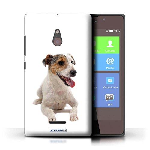 Kobalt® Imprimé Etui / Coque pour Nokia XL / Dalmatien conception / Série Chiens Jack Russell Terrier