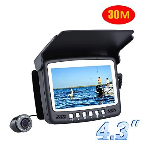 Dxyap Fischfinder Kamera Nachtsicht Fisch Sucher/Unterwasserfischerei Kamera, 4.3