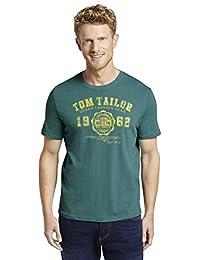 TOM TAILOR für Männer T-Shirts/Tops T-Shirt mit Logo-Print