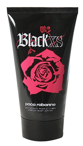 Paco Rabanne Black XS for her femme / woman, Bodylotion 150 ml, 1er Pack (1 x 150 ml)