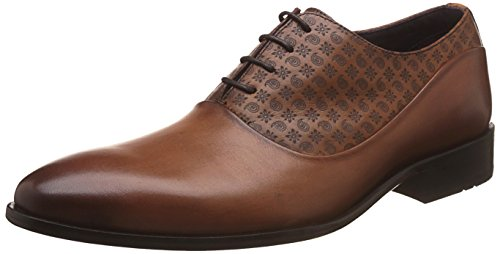 Luxure By Louis Philippe Men's Indian - Tan Brown