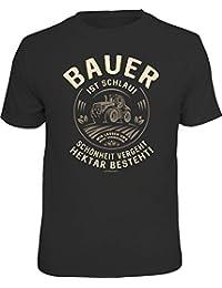 Original RAHMENLOS® T-Shirt für den informierten Landwirt: Bauer ist schlau…