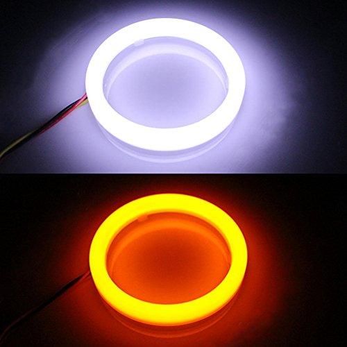 TABEN Moto LED indicatori di direzione Luce Grip Bar Plug Strobe indicatore Laterale Manubrio fine Angolo luci di Segnalazione 1/Coppia