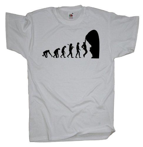 Ma2ca - Evolution - Climbing Kletter T-Shirt White