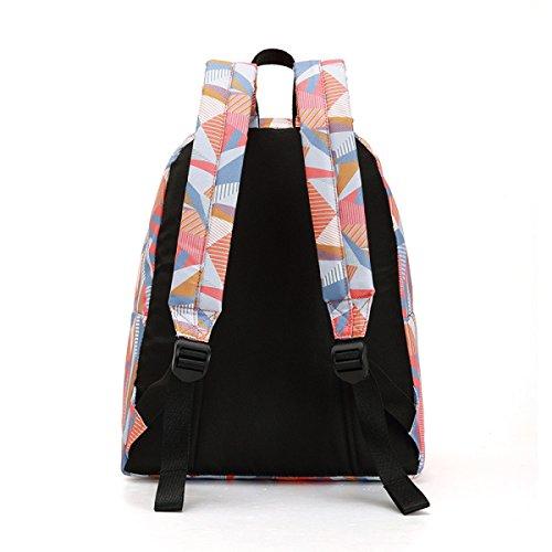 Männer Und Frauen Umhängetasche Freizeit Student Tasche Reiserucksack Pink