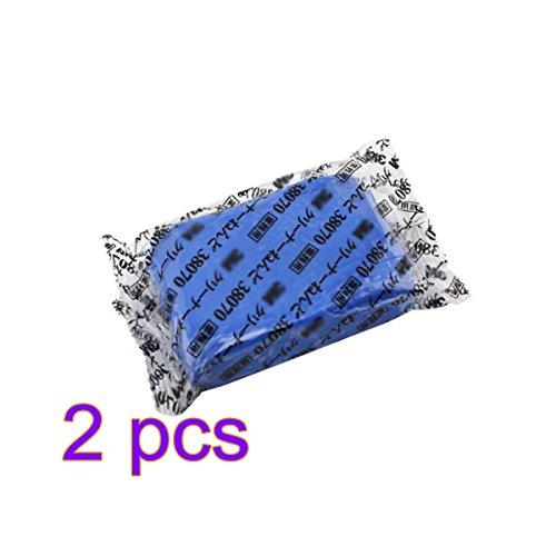 Barre D'argile Bleue de Nettoyage de Voiture de 2 PCS, 160g Professionnel Détaillant Automatique Magique de Barre D'argile de Nettoyage D'outils de Boue de Lavage de Boue Pour le Nettoyage de Voiture