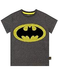 DC Comics Camiseta de Manga Corta para niños Batman